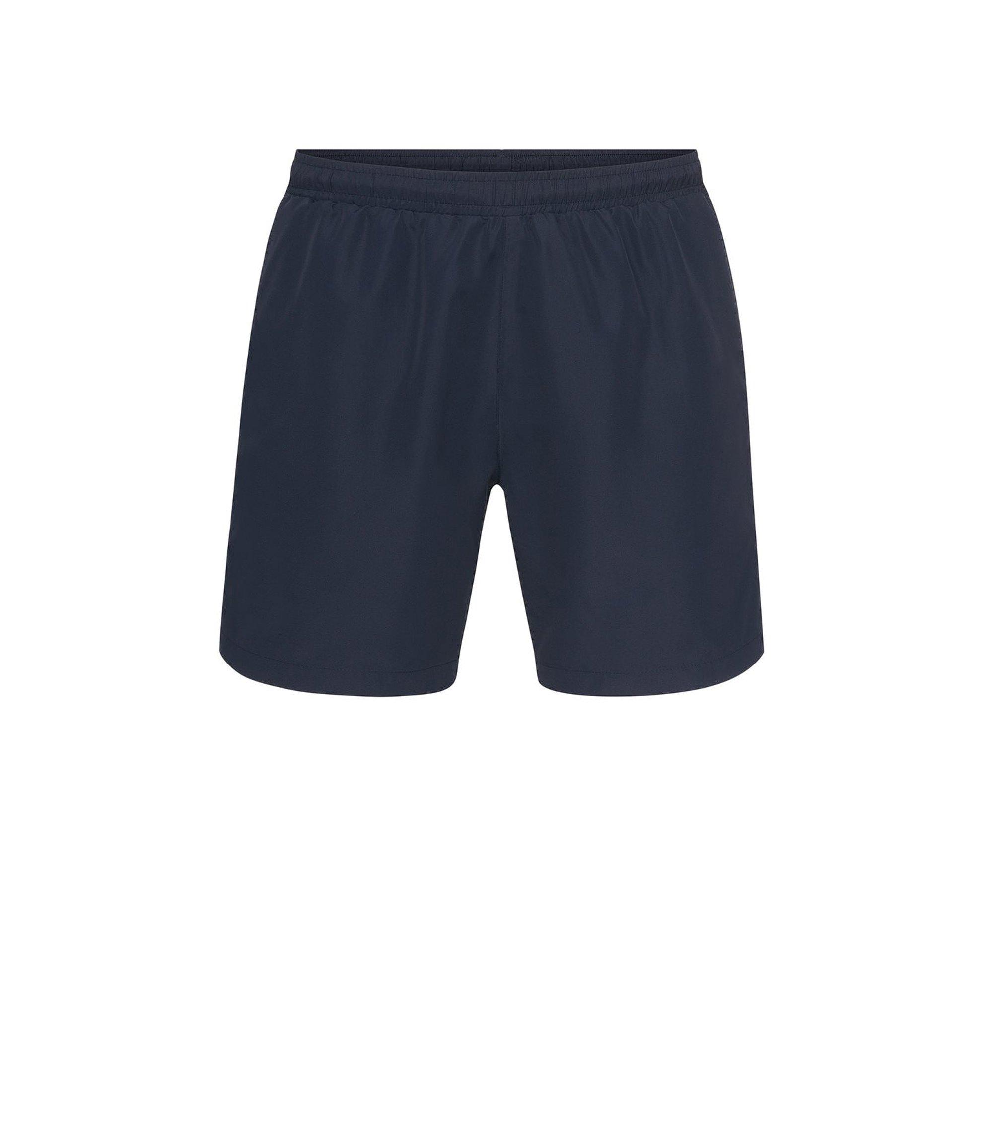 Boxer da bagno lunghi in tessuto tecnico , Blu scuro