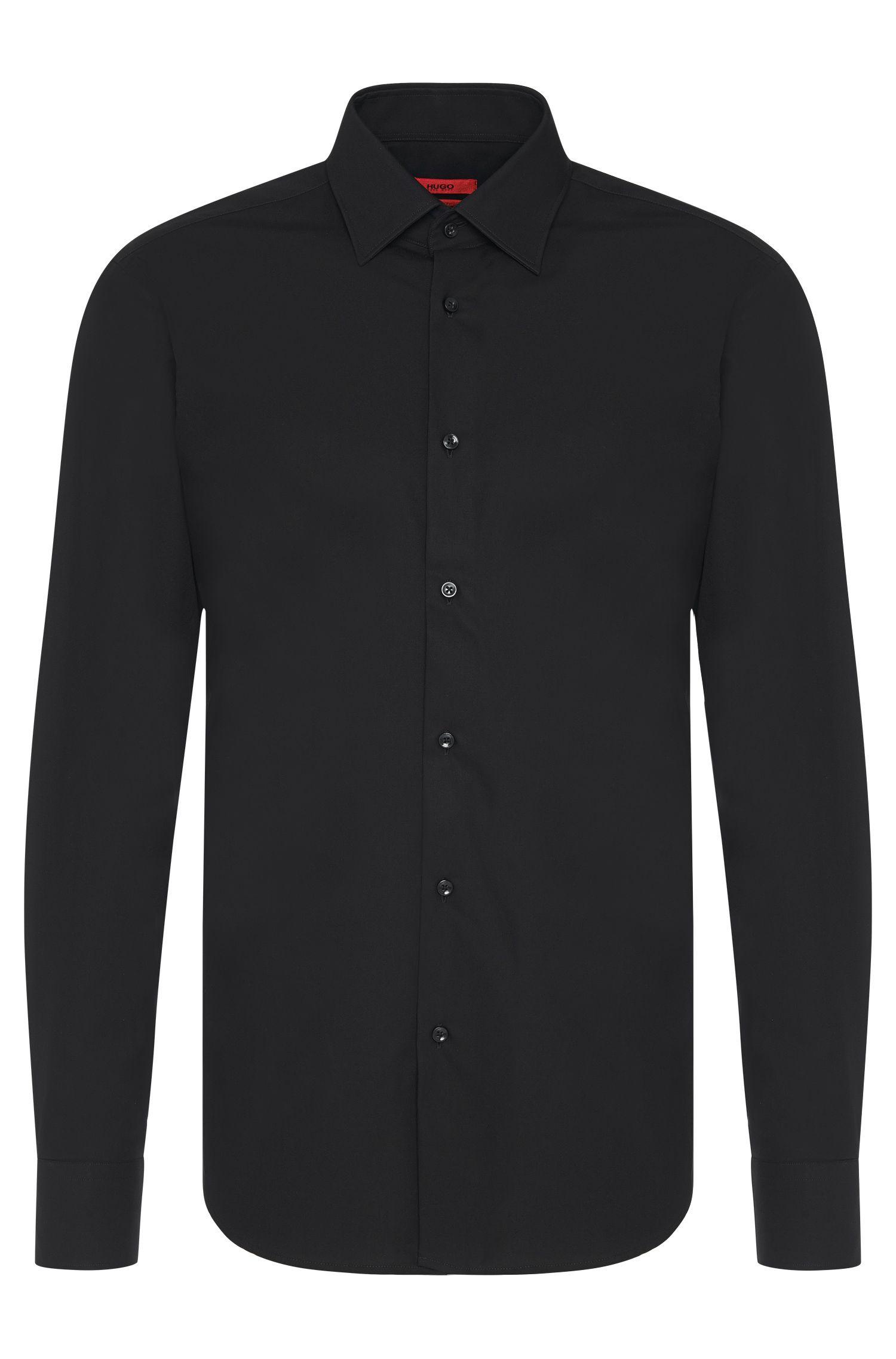 Regular-Fit-Business-Hemd aus Baumwolle
