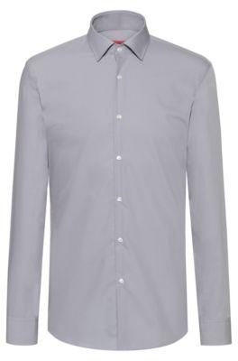 Business Popeline Di Slim Cotone In Camicia Fit l13JcTKF