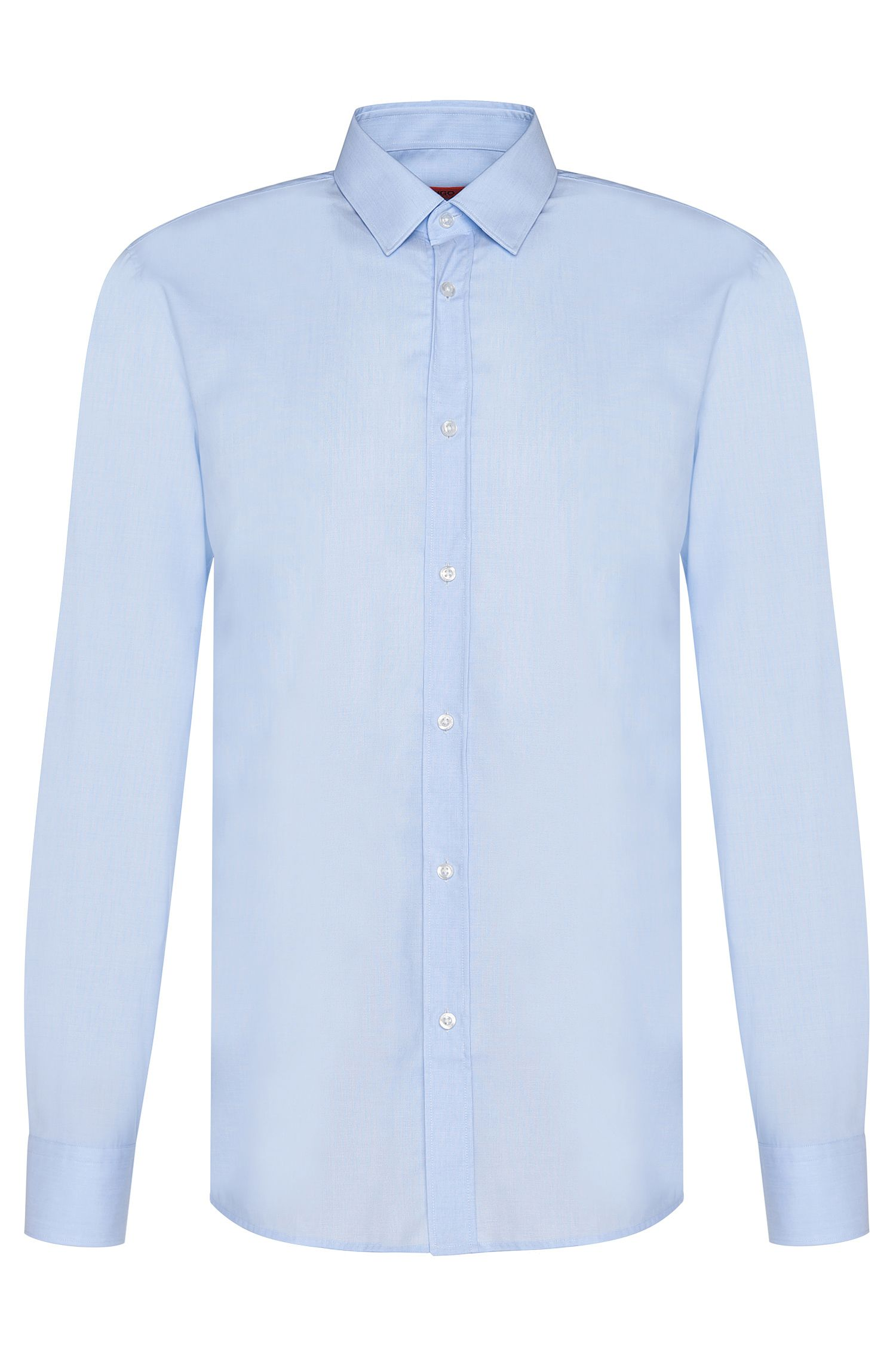 Slim-Fit Hemd aus Baumwolle: 'Elisha01'