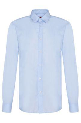 Slim-Fit Hemd aus Baumwolle: 'Elisha01', Hellblau