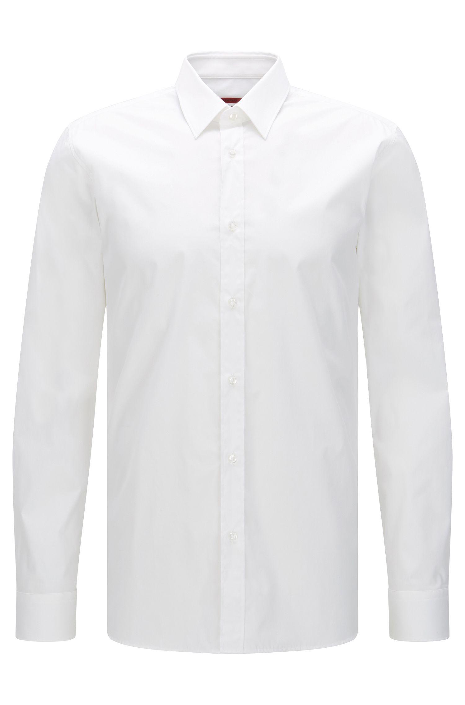 Slim-Fit Hemd aus Stretch-Baumwolle