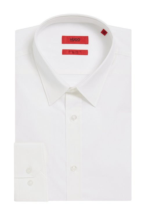 Hugo Boss - Extra-slim-fit shirt in stretch cotton - 4