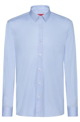 Chemise Extra Slim Fit en coton stretch, Bleu vif