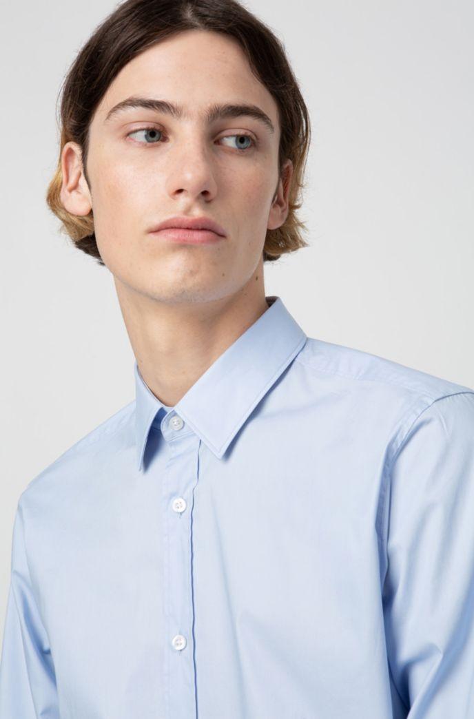 Extra slim-fit overhemd van stretchkatoen