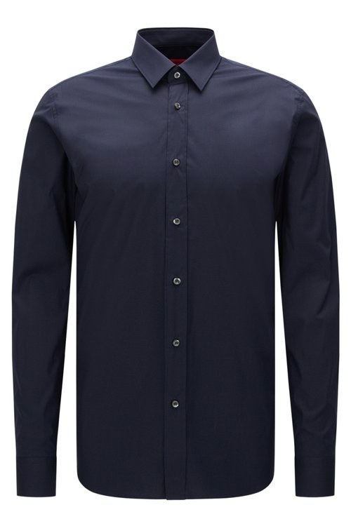 Hugo Boss - Extra-slim-fit shirt in stretch cotton - 1