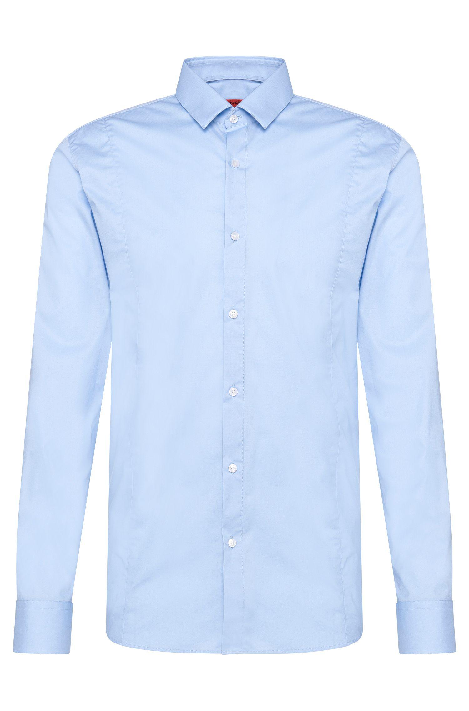 Slim-Fit Hemd aus Stretch-Baumwolle: 'Etello'