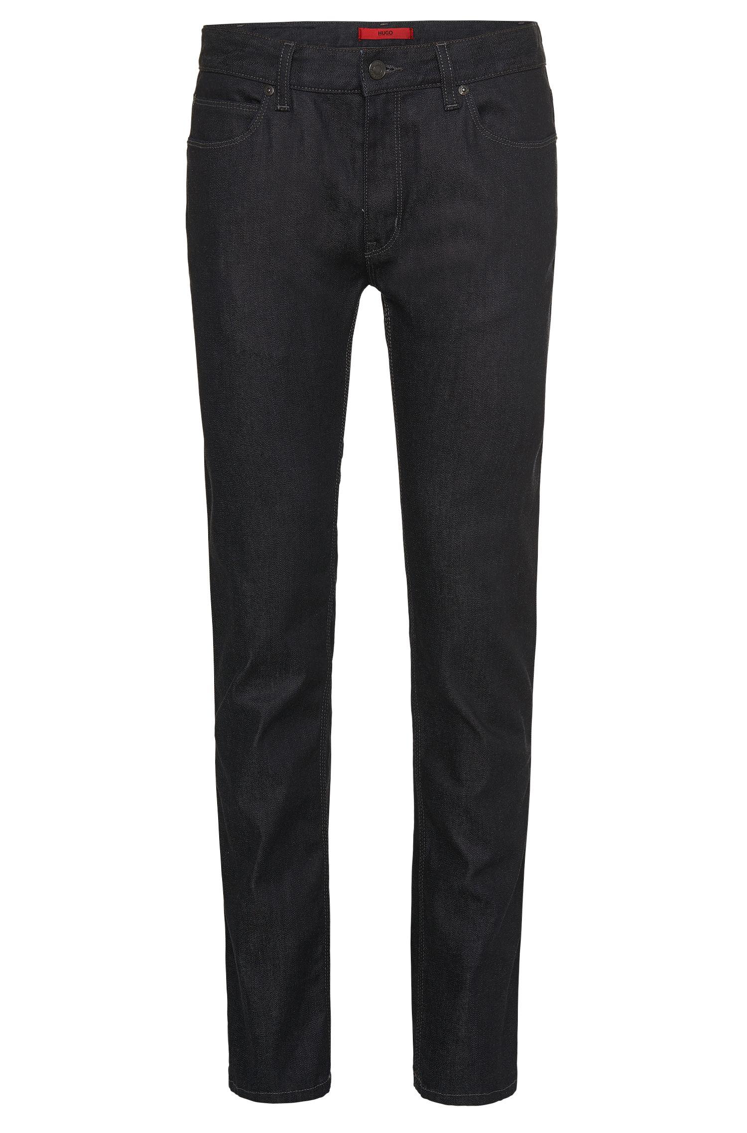Slim-Fit Jeans aus Baumwoll-Mix: 'HUGO 708'