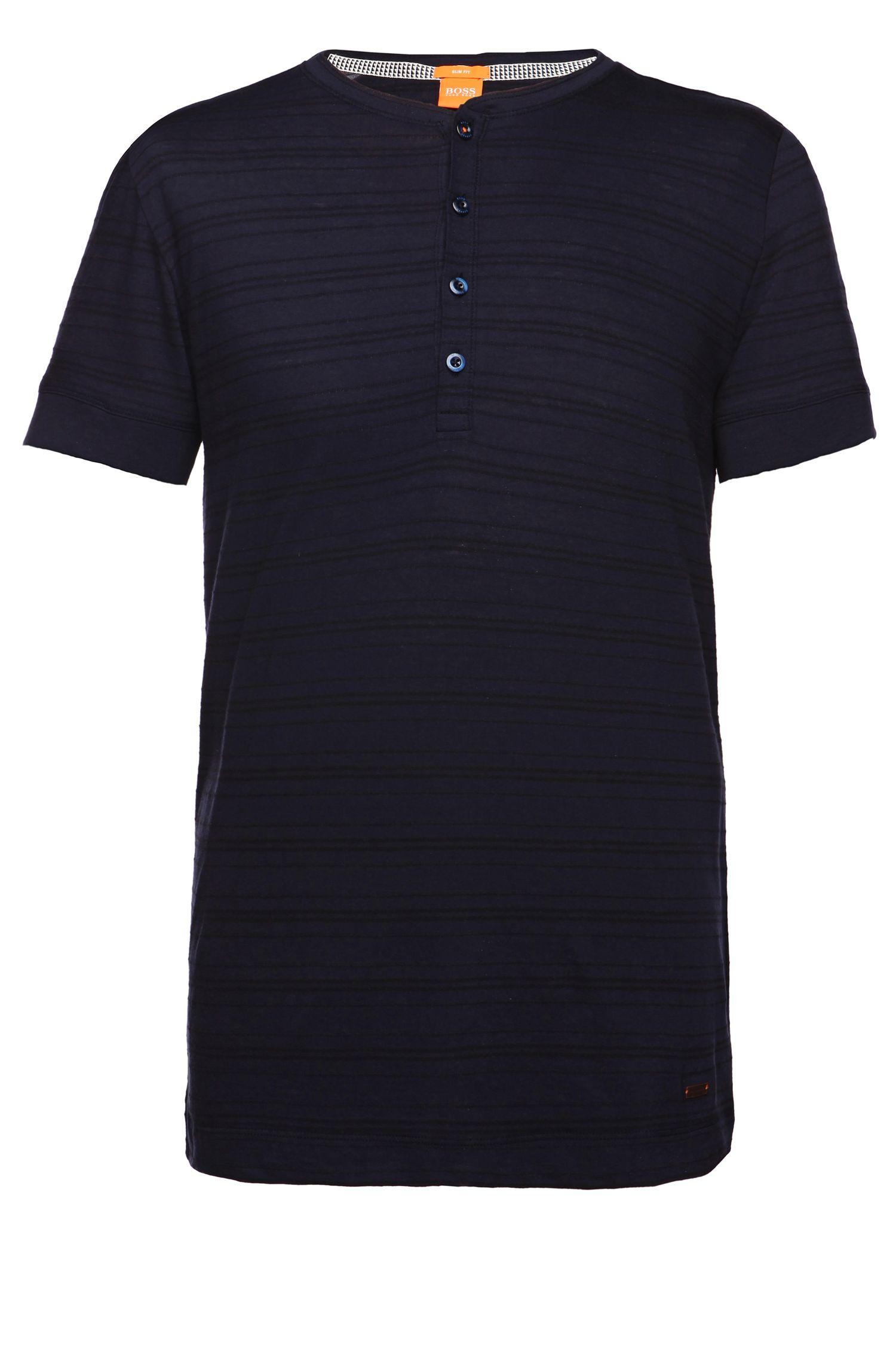 T-Shirt ´Tempesto` aus Baumwoll-Mix