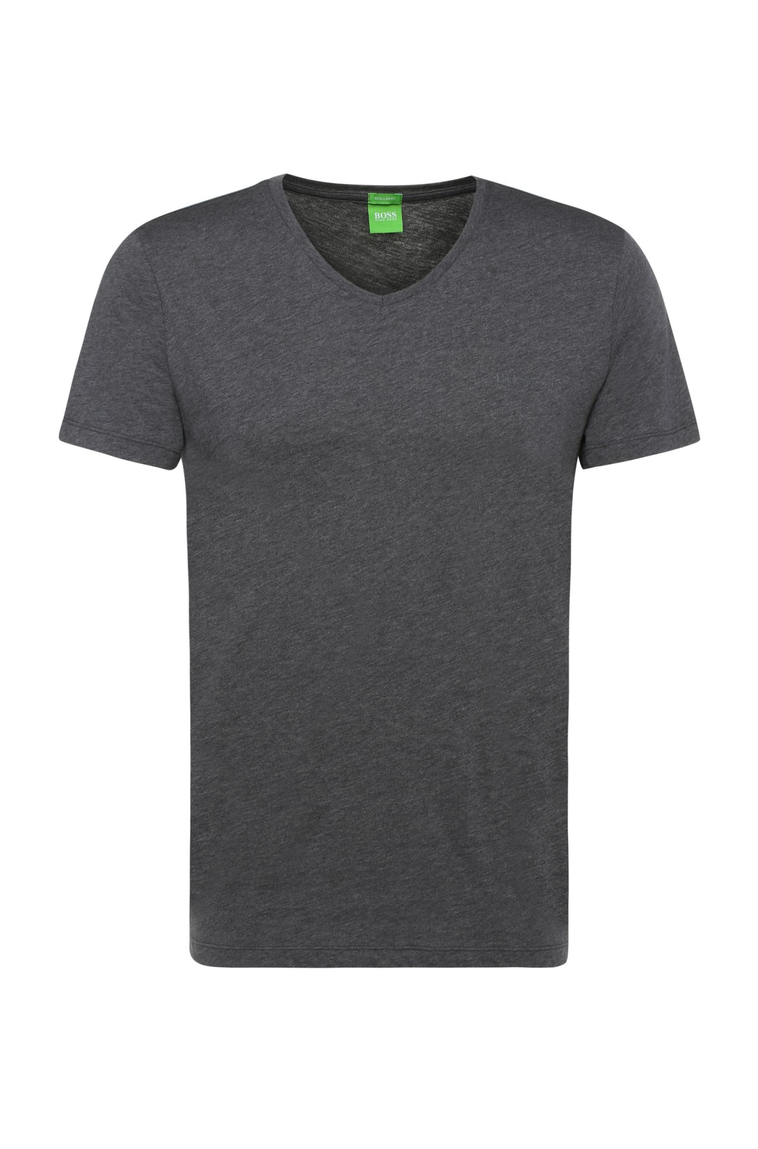 Slim-fit T-shirt in soft single jersey