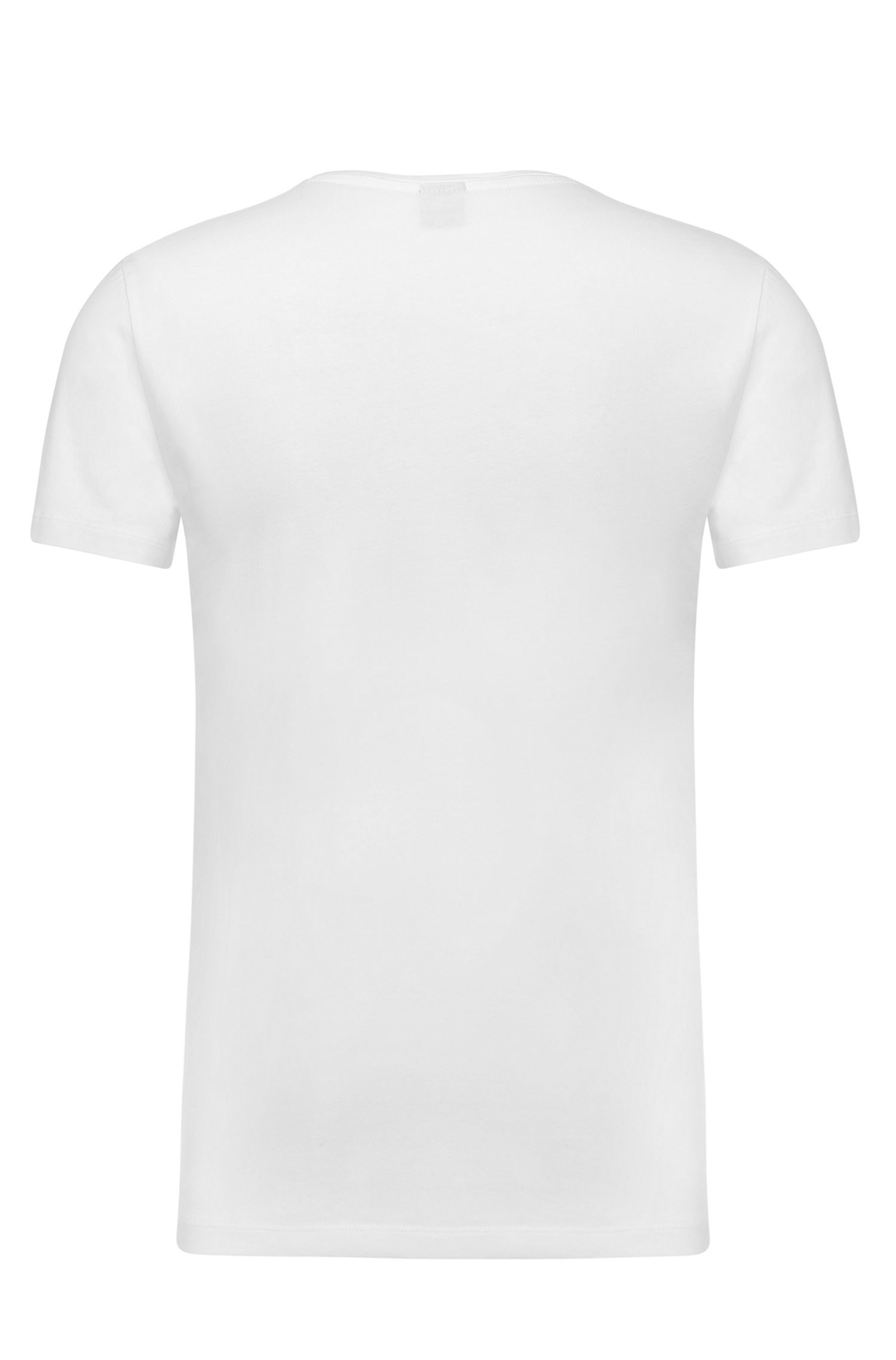 Pure cotton t-shirt: 'C-Lecco'