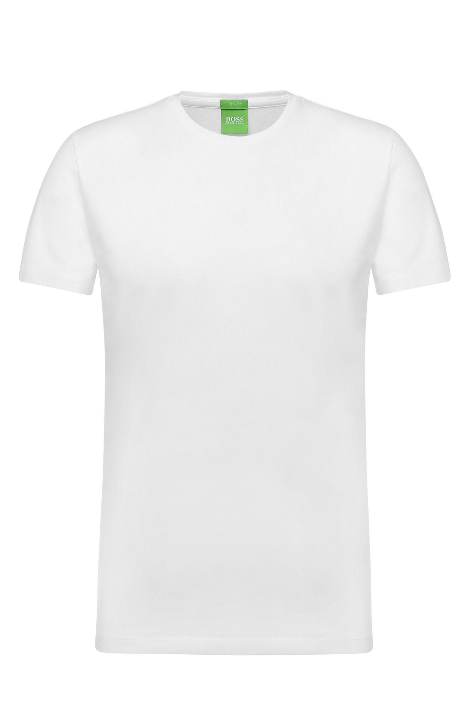 T-Shirt aus reiner Baumwolle: ´C-Lecco`