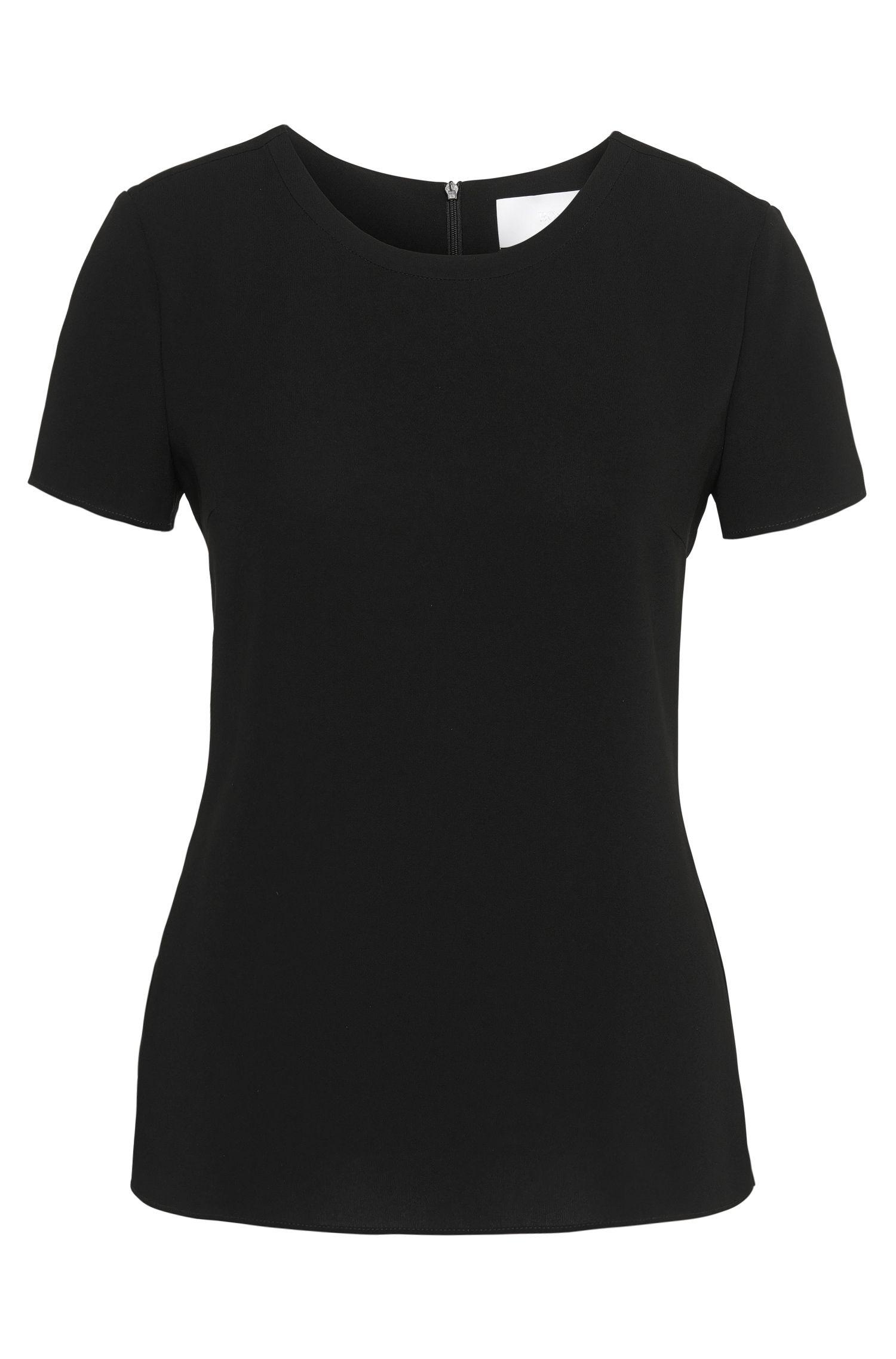 Weich fallendes Krepp-Top von BOSS Womenswear Fundamentals