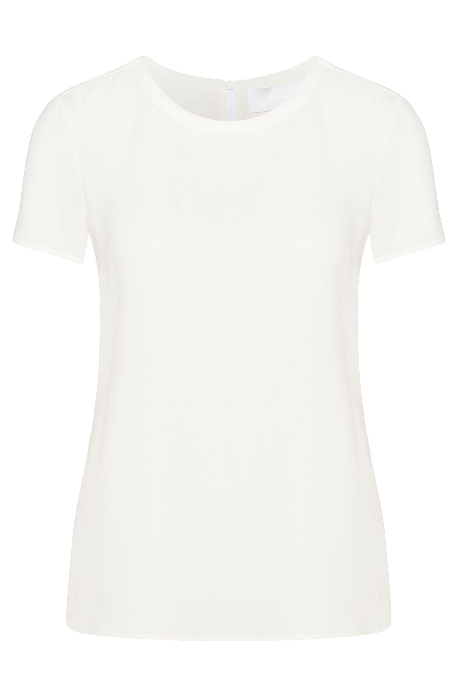 Tere, elegante crêpetop van BOSS Womenswear Fundamentals