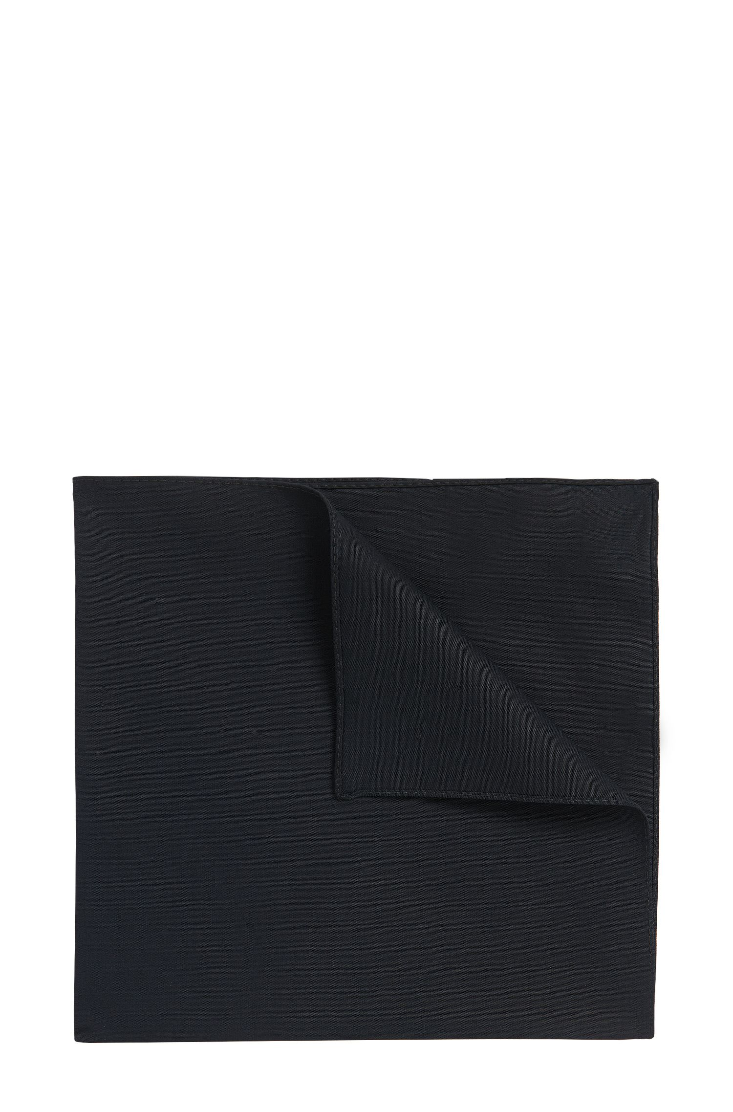 Cotton poplin pocket square