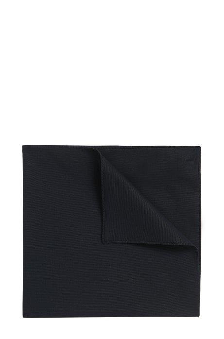 Pochette en popeline de coton, Noir