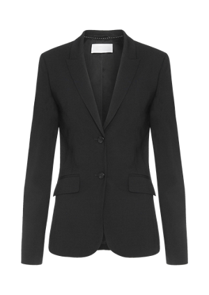 Regular-fit blazer in stretch new wool: 'Julea'