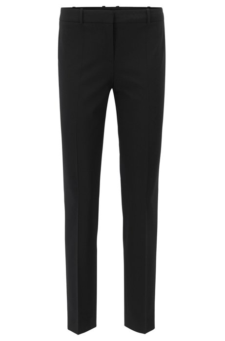 Slim-fit cropped trousers BOSS 4z7hB