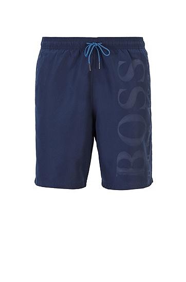 拉绳腰带泳裤,  413_海军蓝色