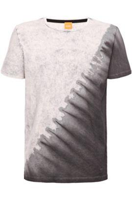 T-Shirt ´Talluto` aus Baumwolle, Natur
