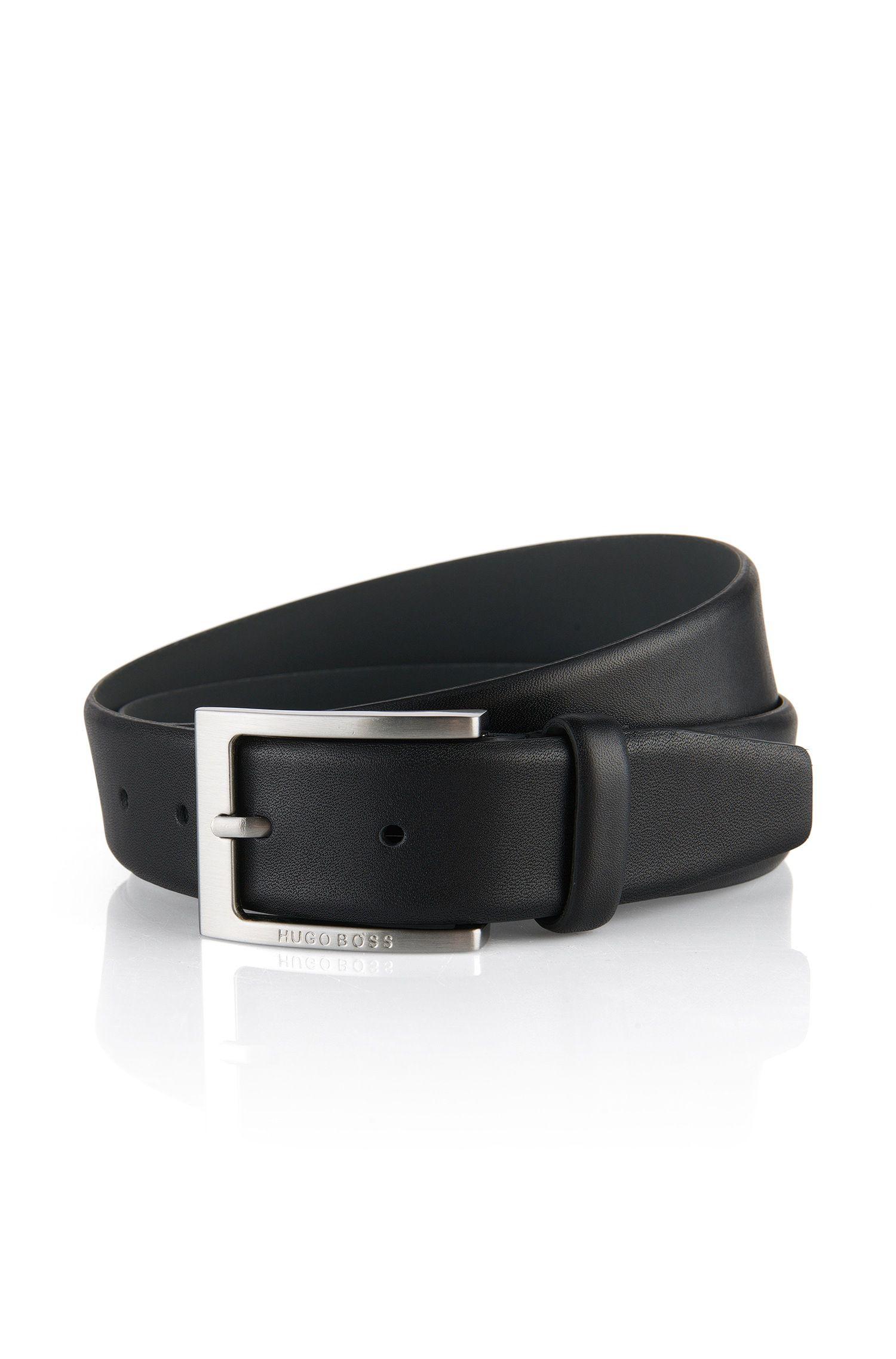 Cintura in pelle lavorata by BOSS Uomo