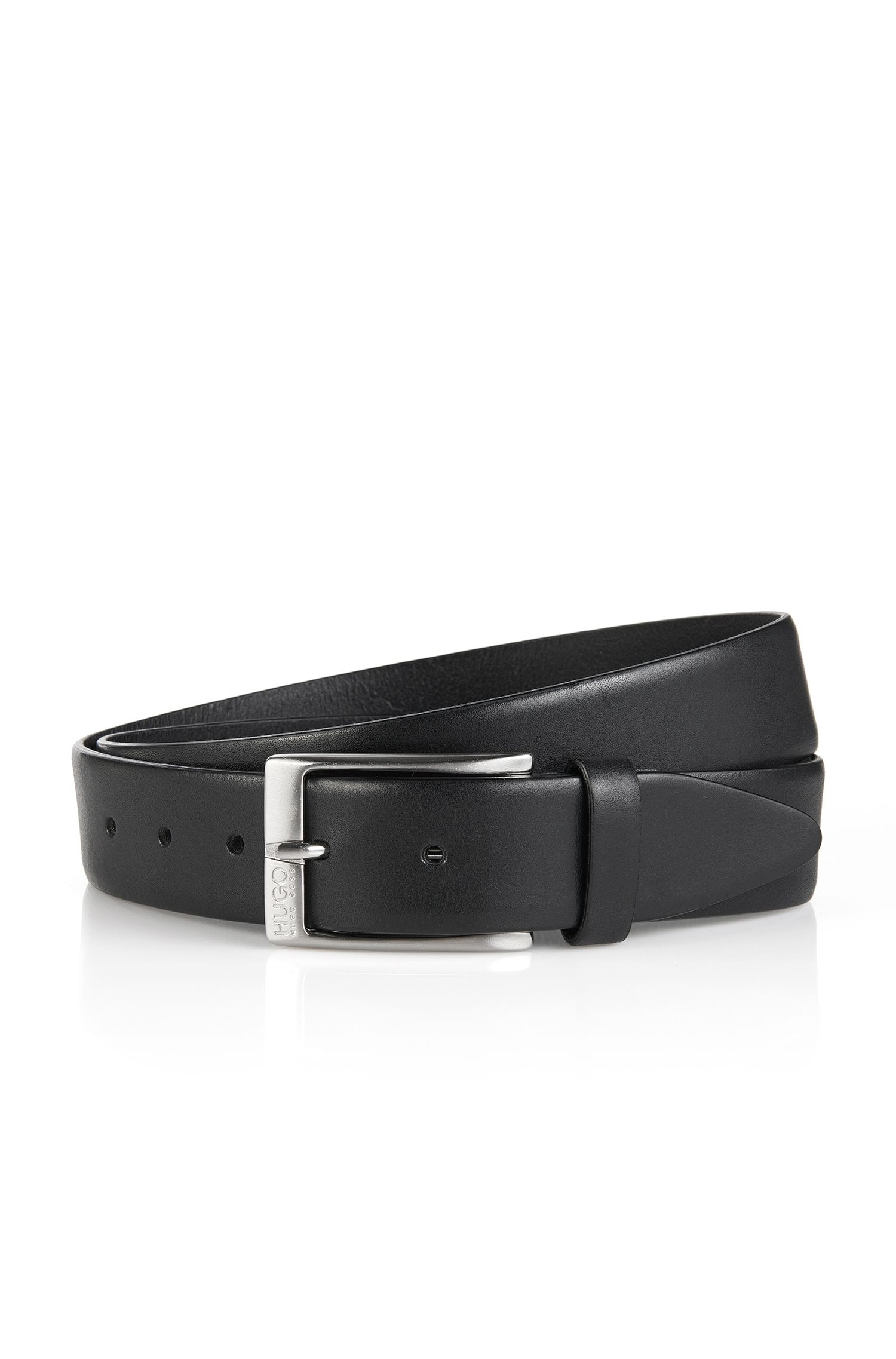 Leather belt 'C-Eberio'