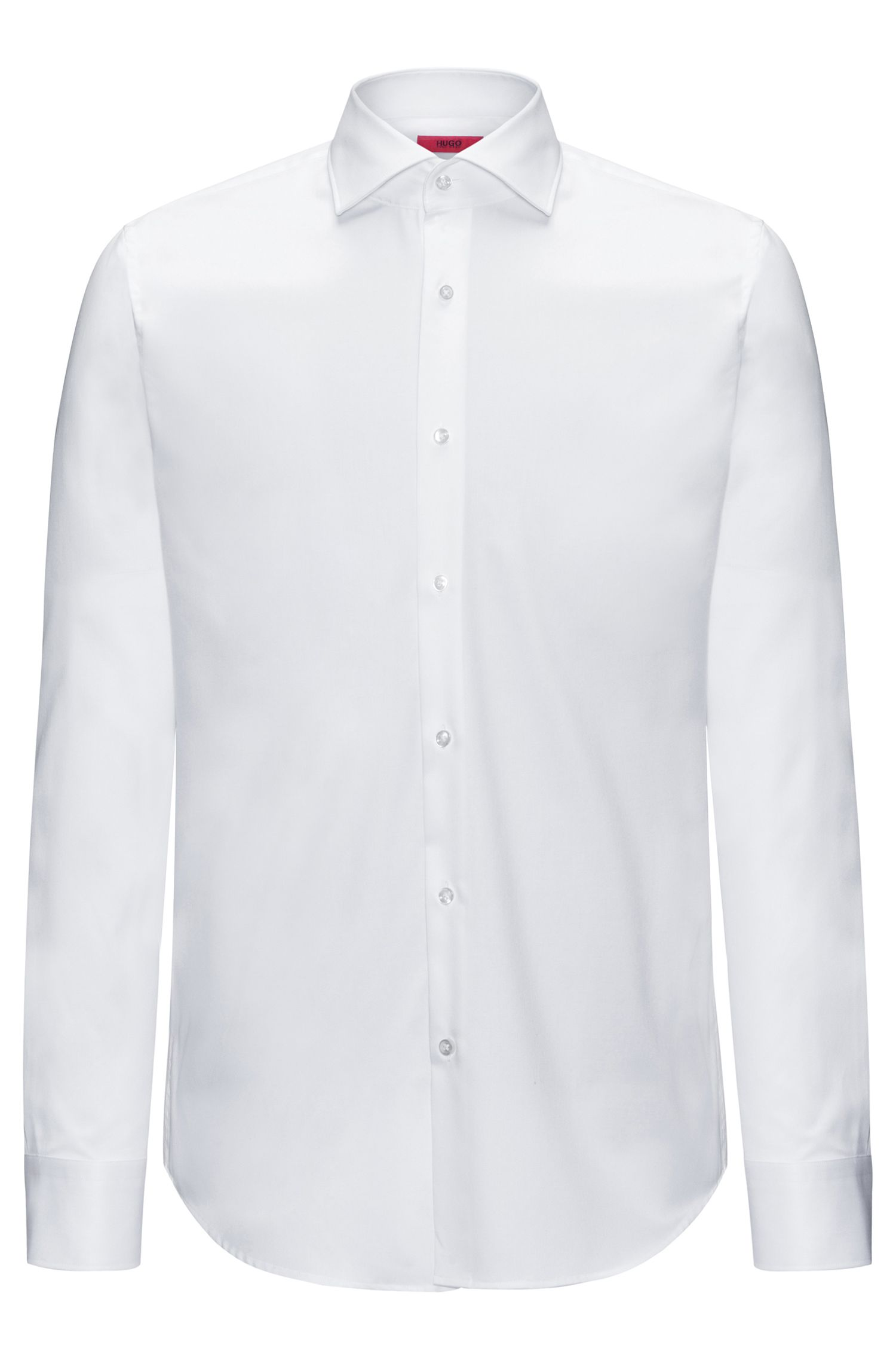 Chemise Regular Fit en pur coton
