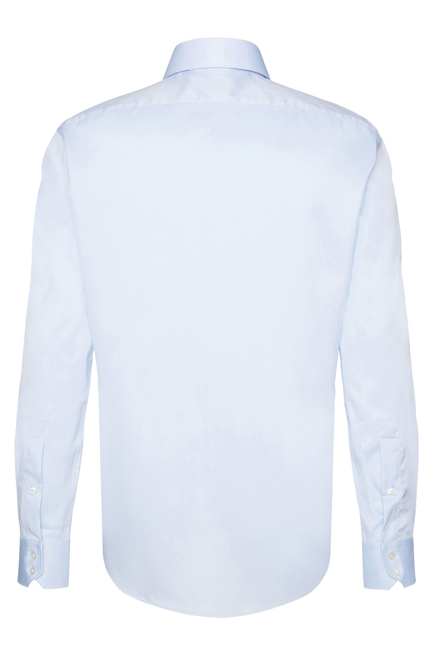 Regular-fit shirt in pure cotton