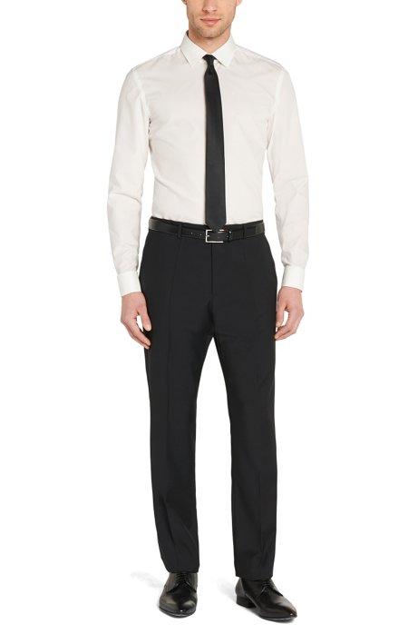 newest 1eb0a fa546 HUGO - Slim-Fit Hemd mit Umschlagmanschetten