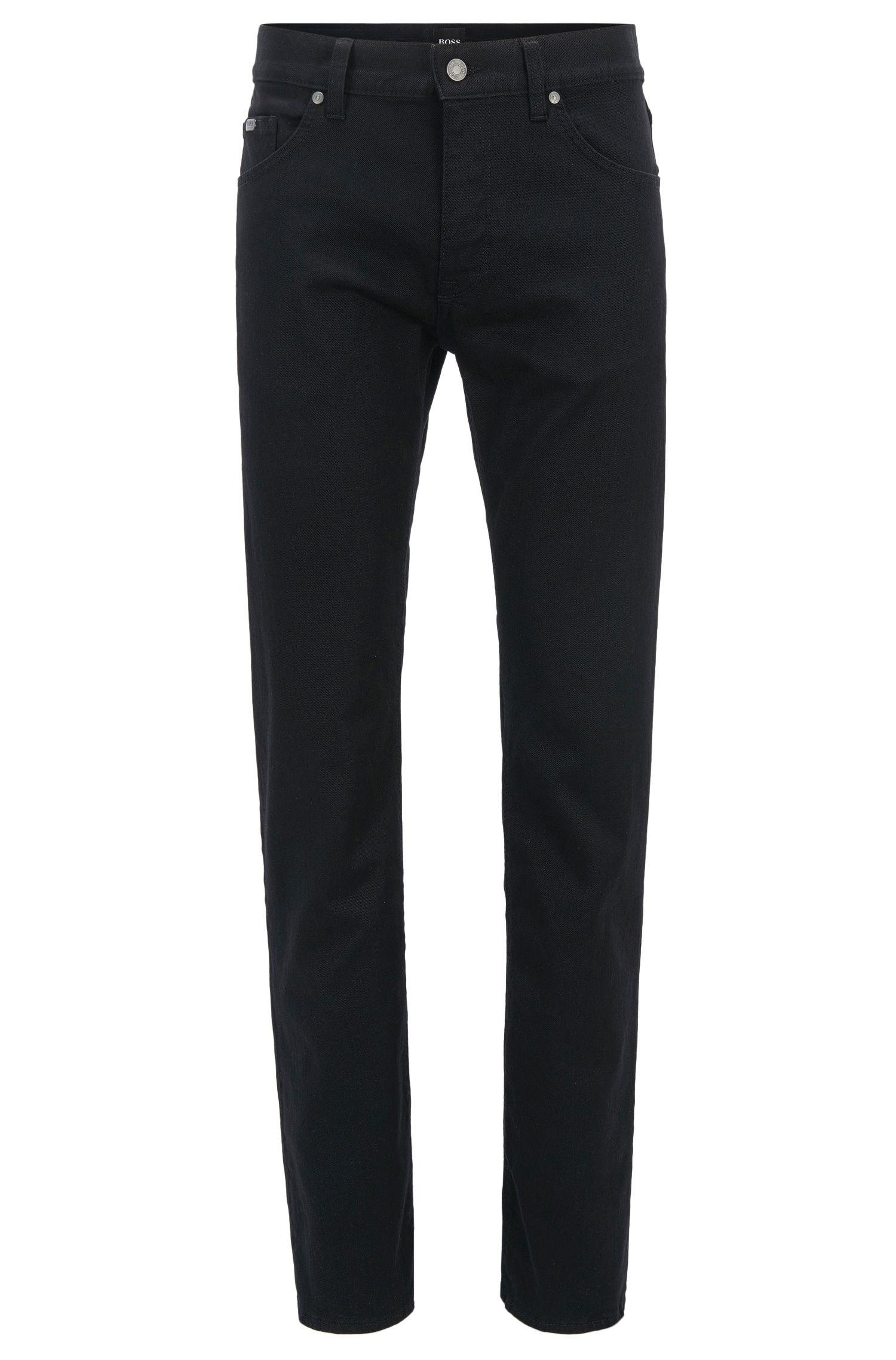 Regular-Fit Jeans aus elastischem Baumwoll-Mix: ´C-Maine1`