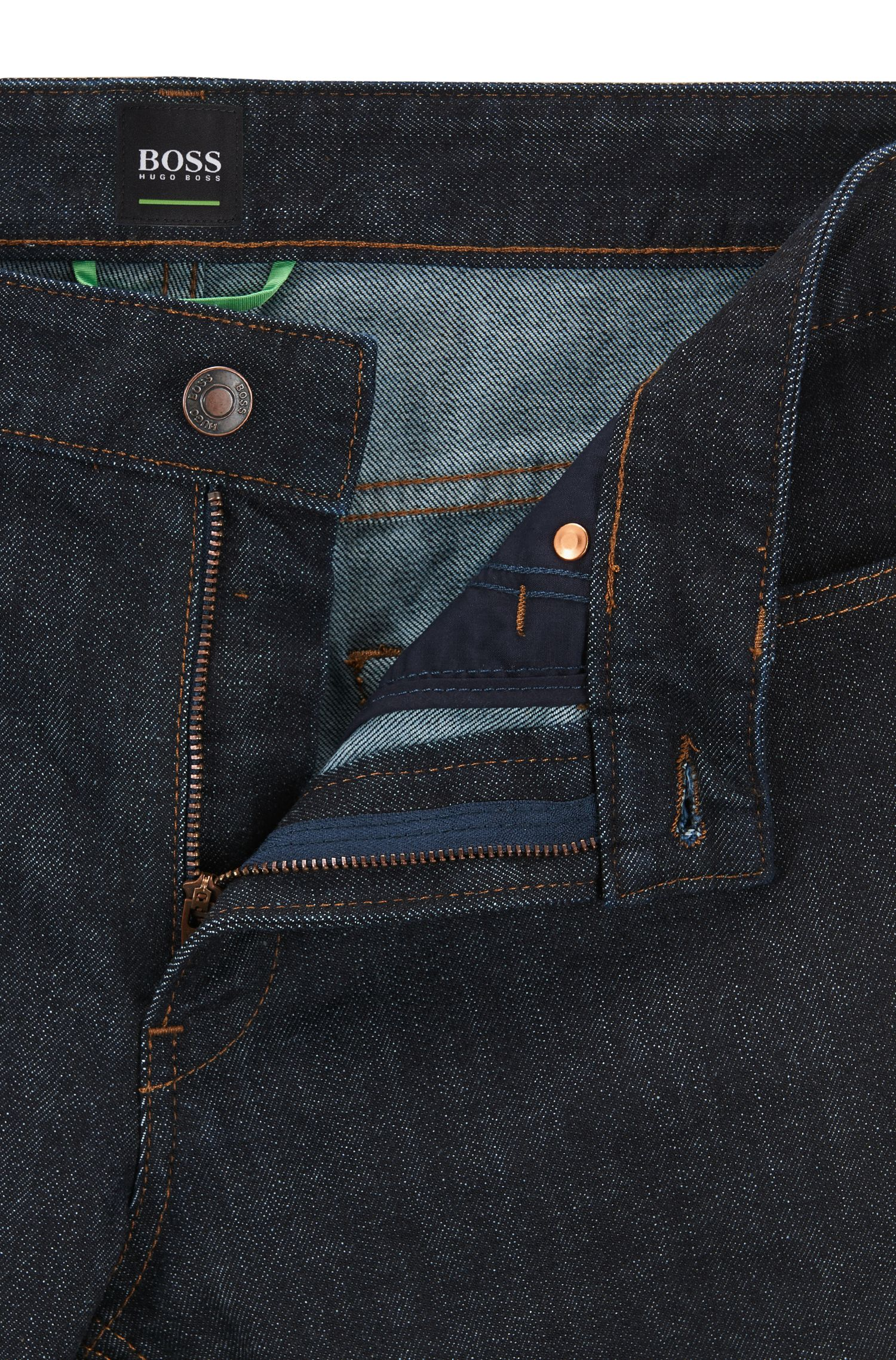 Jeans Slim Fit en coton stretch : « C-DELAWARE1 »