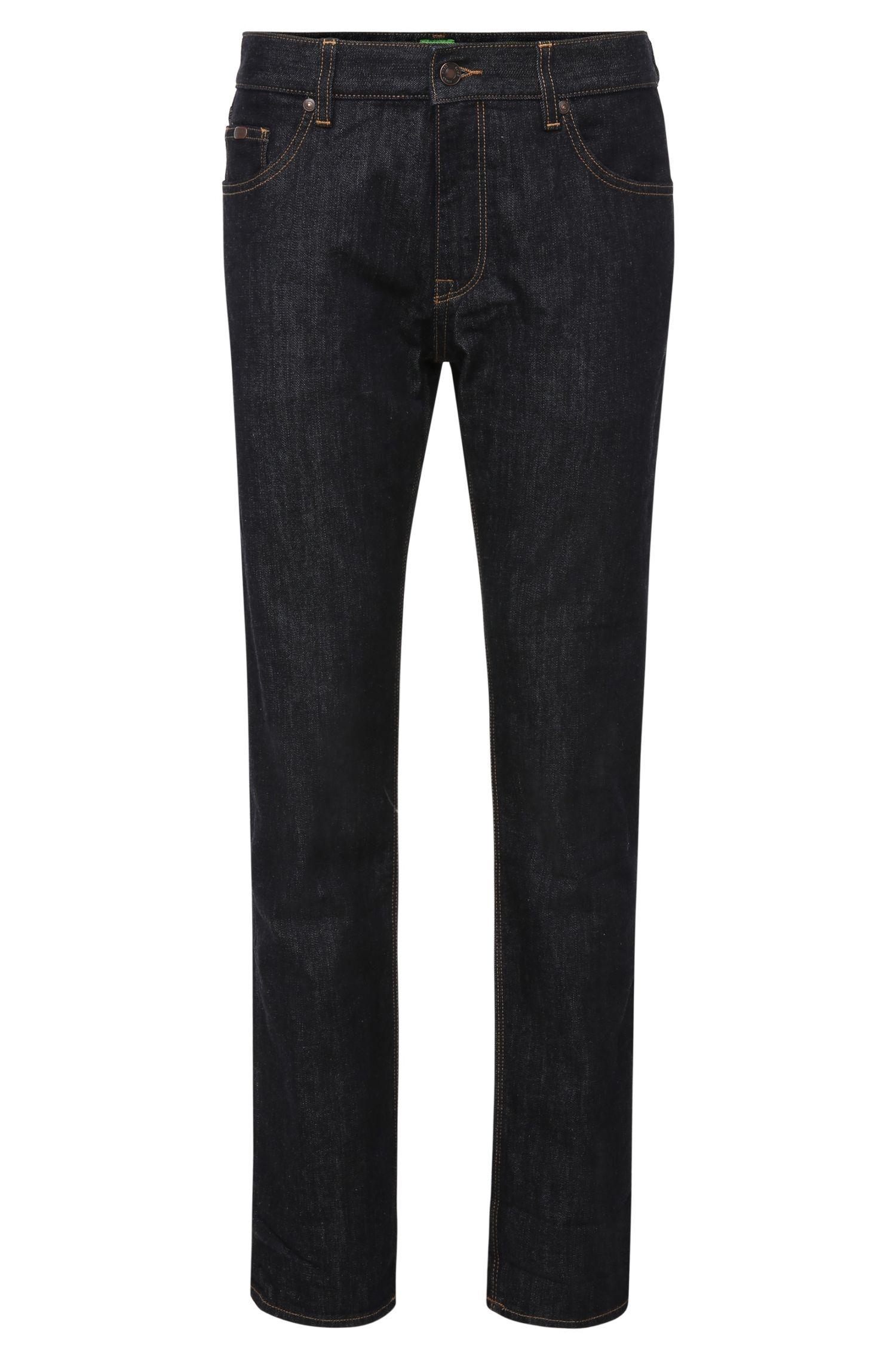 Regular-fit jeans van een elastische katoenmix: 'C-Maine1'