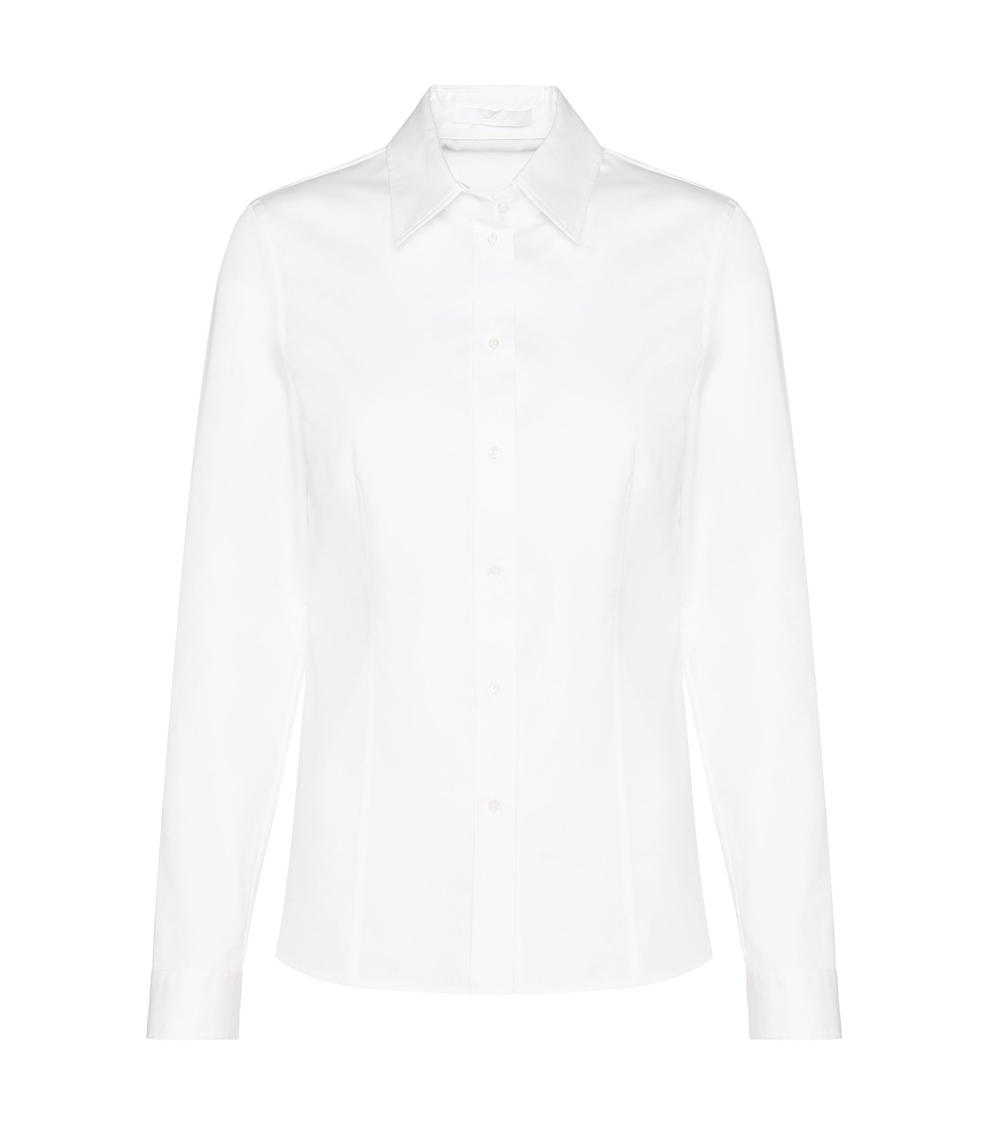Camisa business slim fit , Blanco