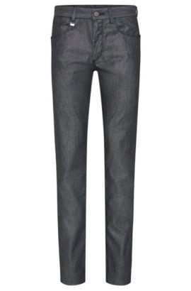 Jeans Regular Fit en coton stretch: «T-Lincoln1», Bleu foncé