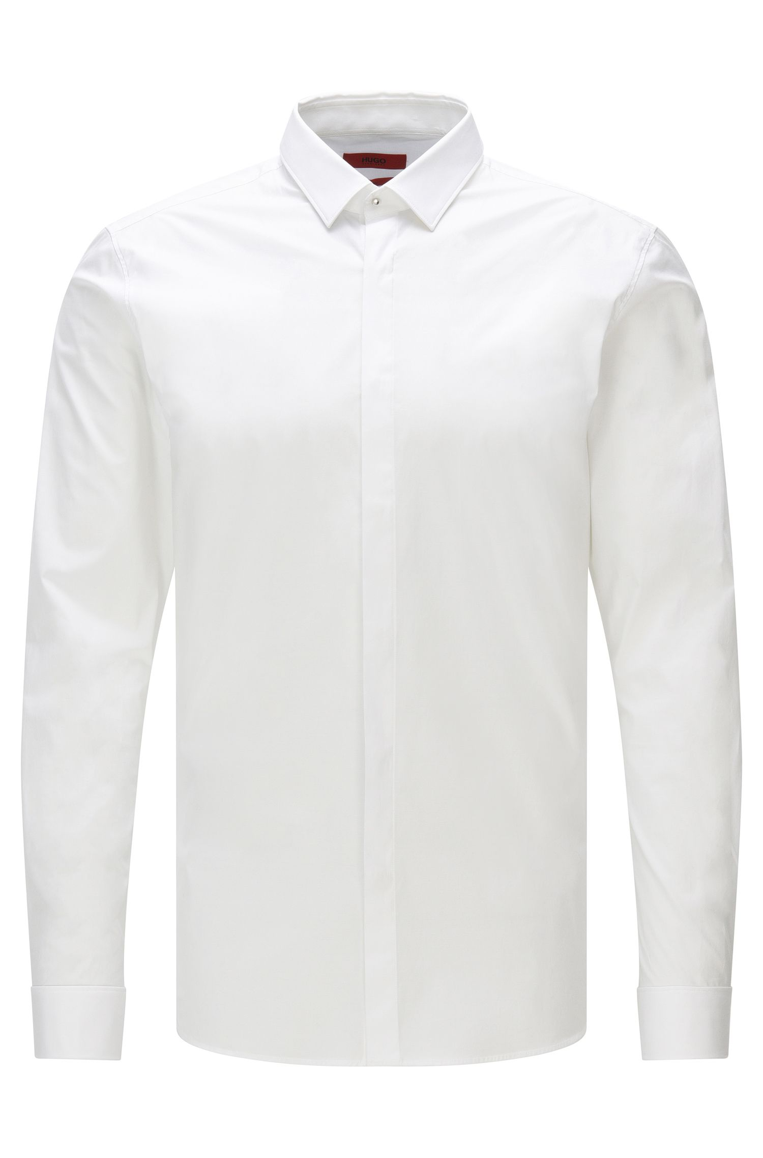 Chemise HUGO Homme Extra Slim Fit en coton stretch