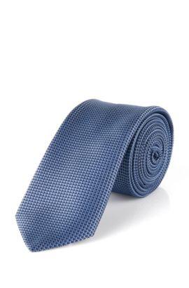 Stropdas van zijde: 'Tie 6 cm', Lichtblauw