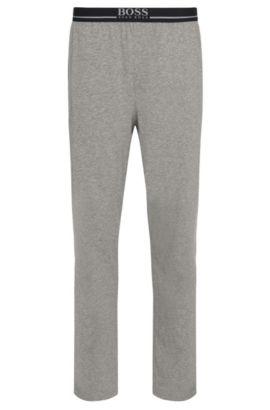 Pantalon d'intérieur en jersey de coton stretch, Gris