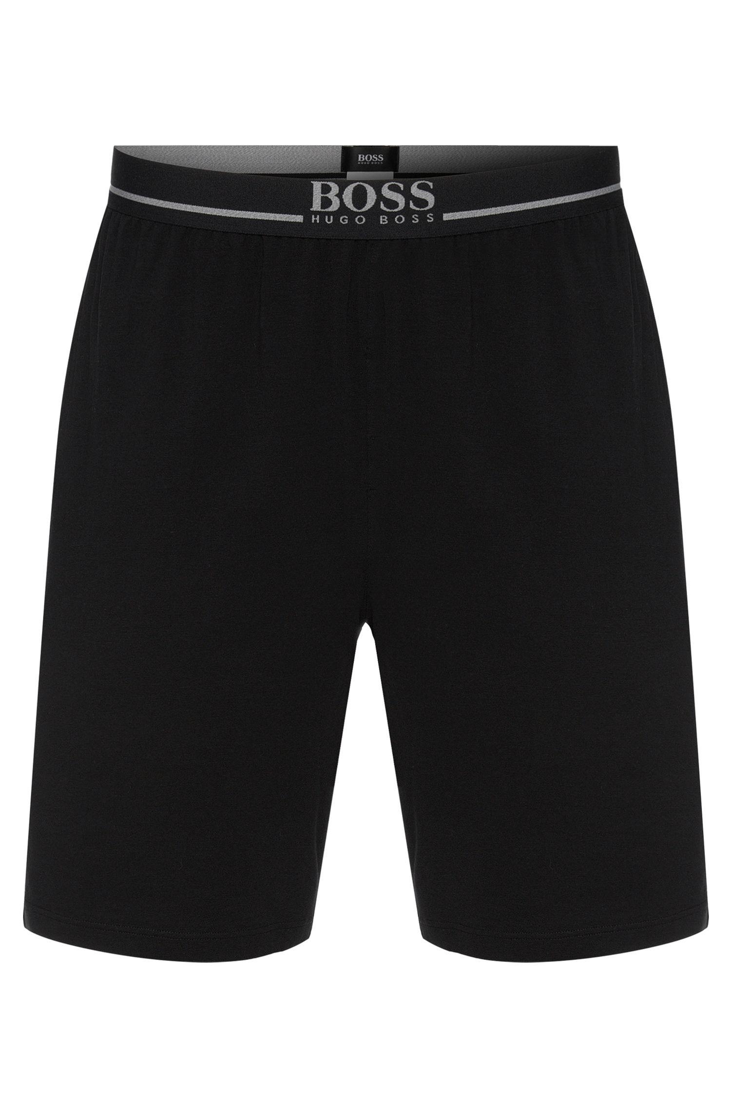 Legere Shorts aus Stretch-Baumwolle