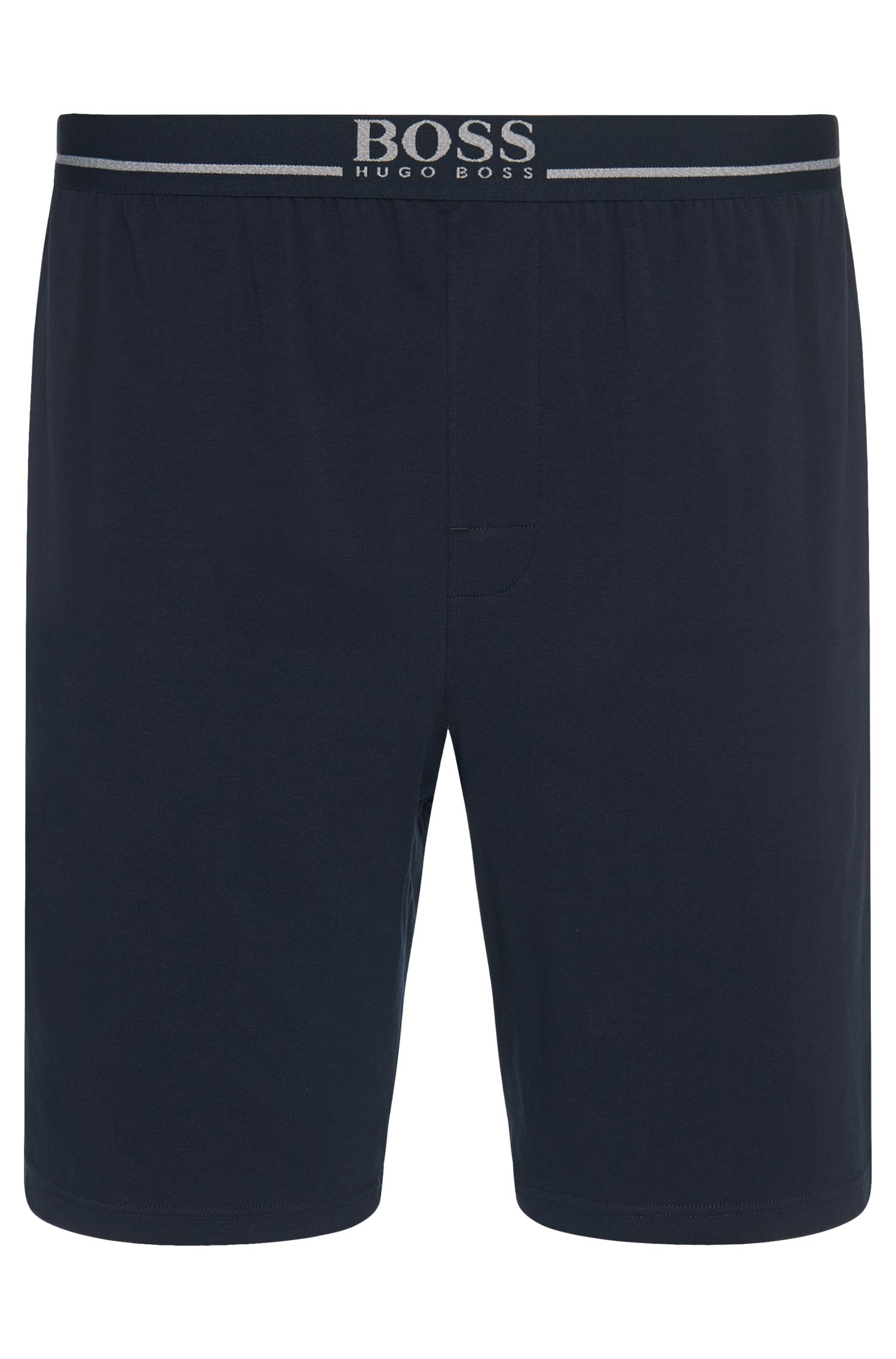 Legere Shorts aus Stretch-Baumwolle