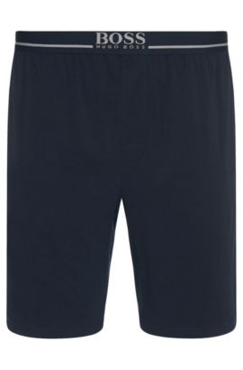 Legere Shorts aus Stretch-Baumwolle , Dunkelblau