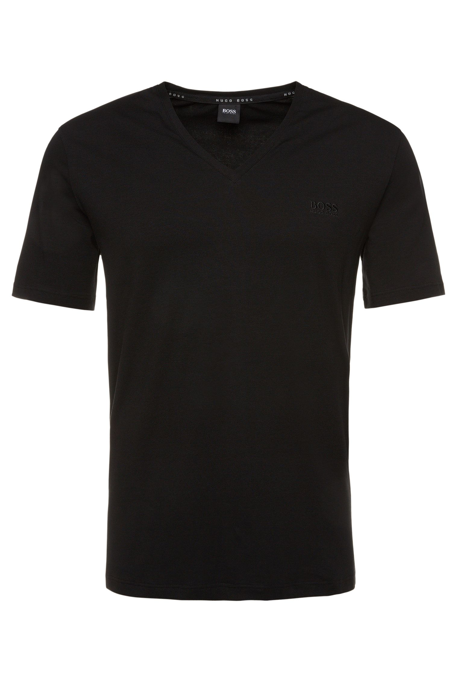 T-shirt regular fit in misto cotone elasticizzato: 'Shirt VN'