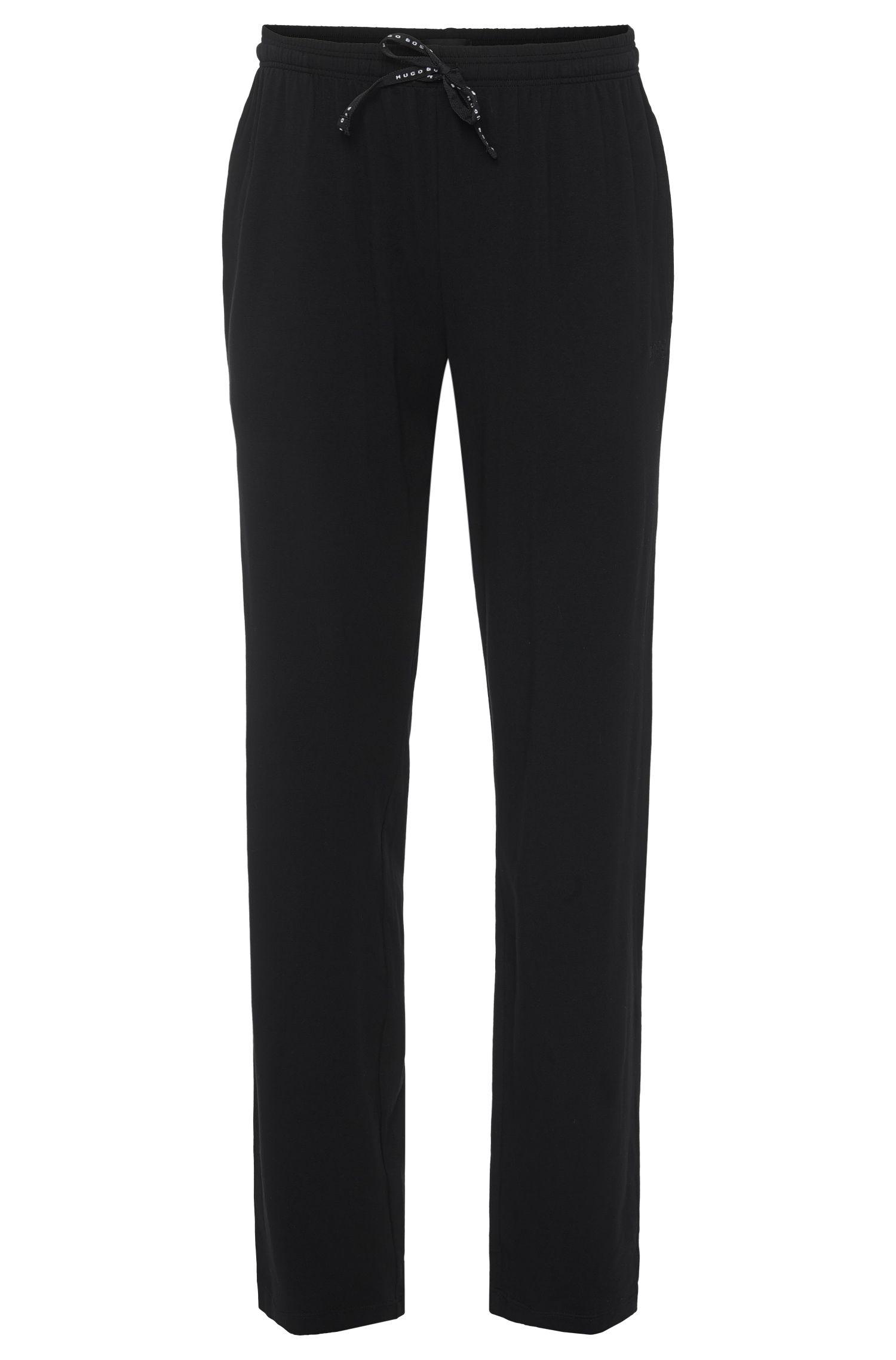 Pantalon de jogging uni en coton mélangé: «Long Pant CW»