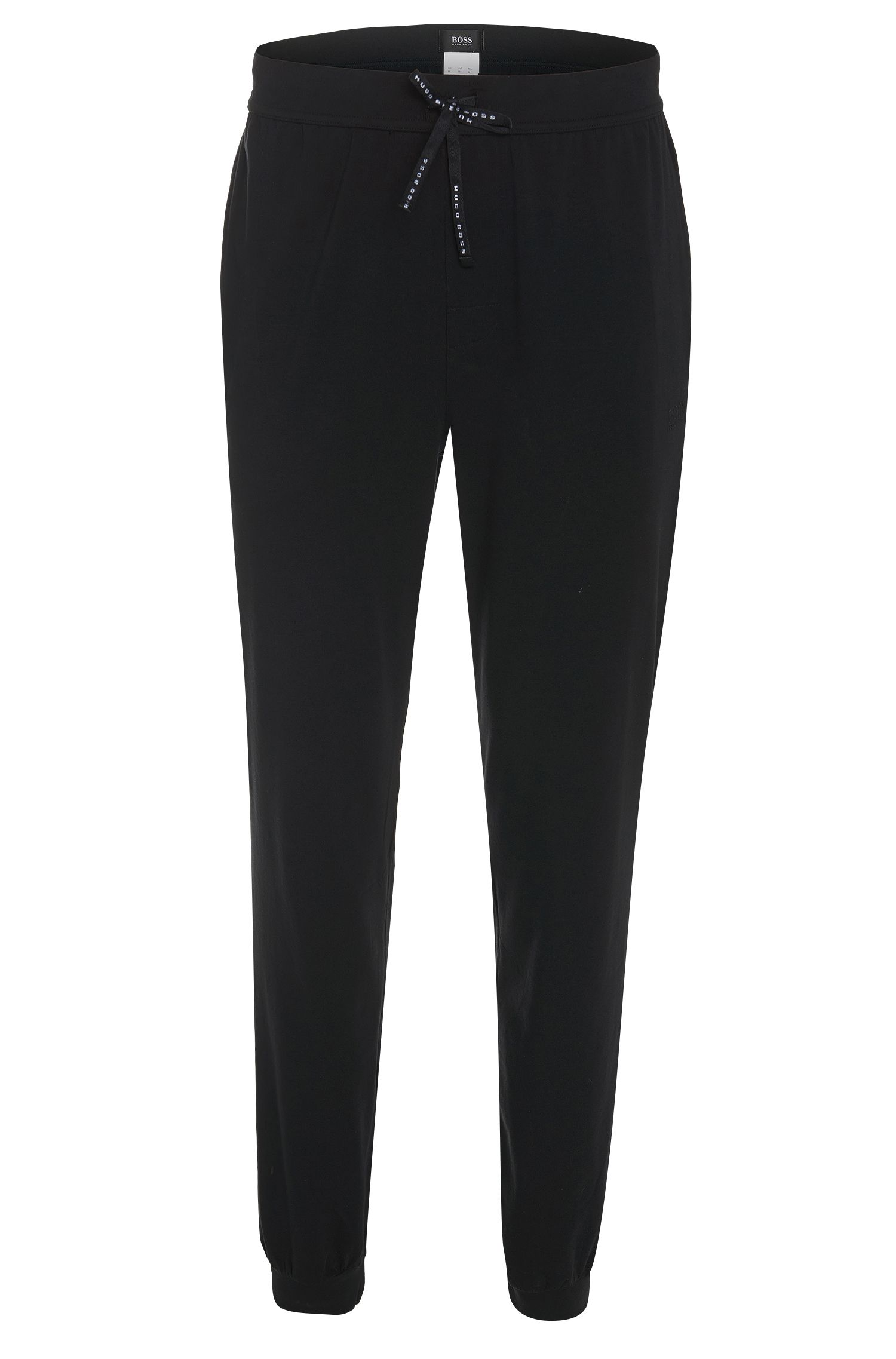 Tracksuit bottoms in cotton blend: 'Long Pant CW Cuffs'