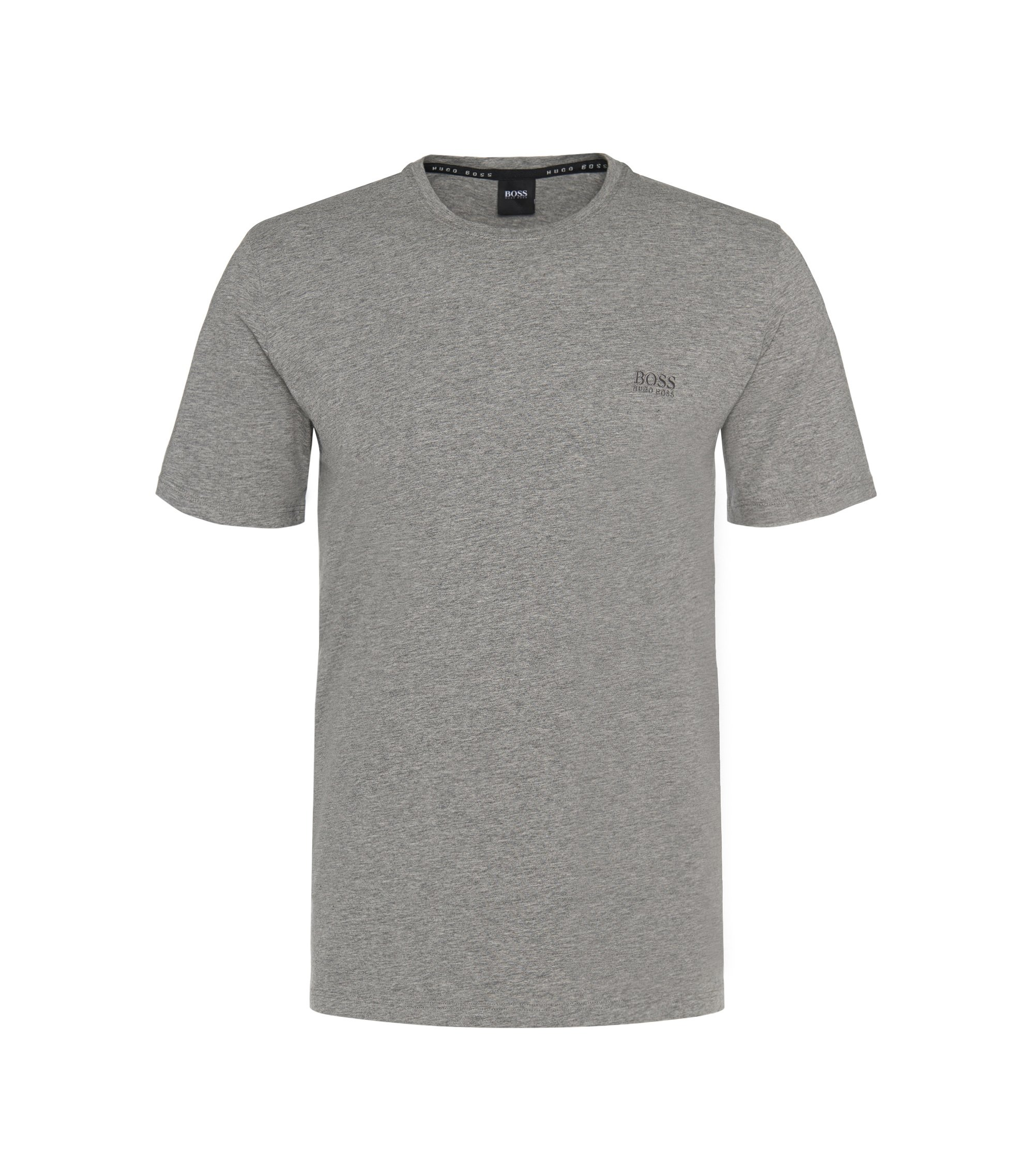 T-shirt d'intérieur Regular Fit en jersey de coton stretch, Gris