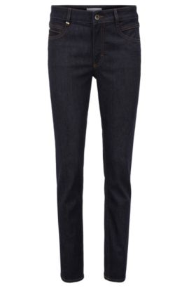 Regular-fit jeans with five-pocket design , Dark Blue