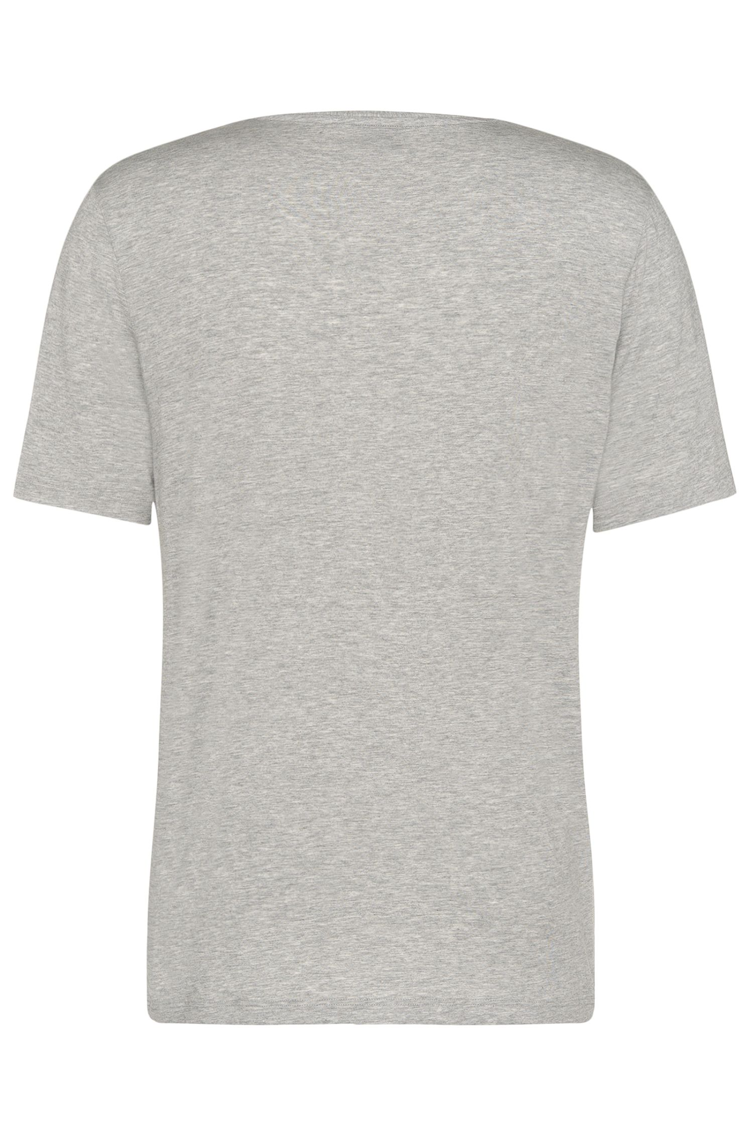 T-shirt regular fit in modal elasticizzato: 'Shirt VN', Grigio