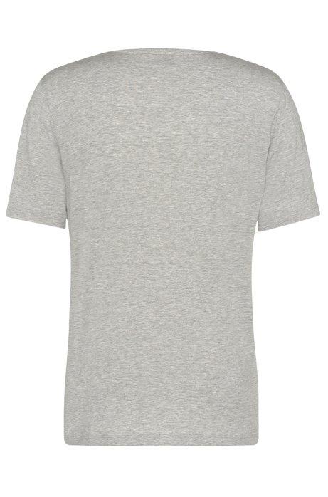 Regular-fit t-shirt in stretch modal: Shirt VN BOSS 2018 Online Cheap Original Cheap Discount Sale ouQDoG8
