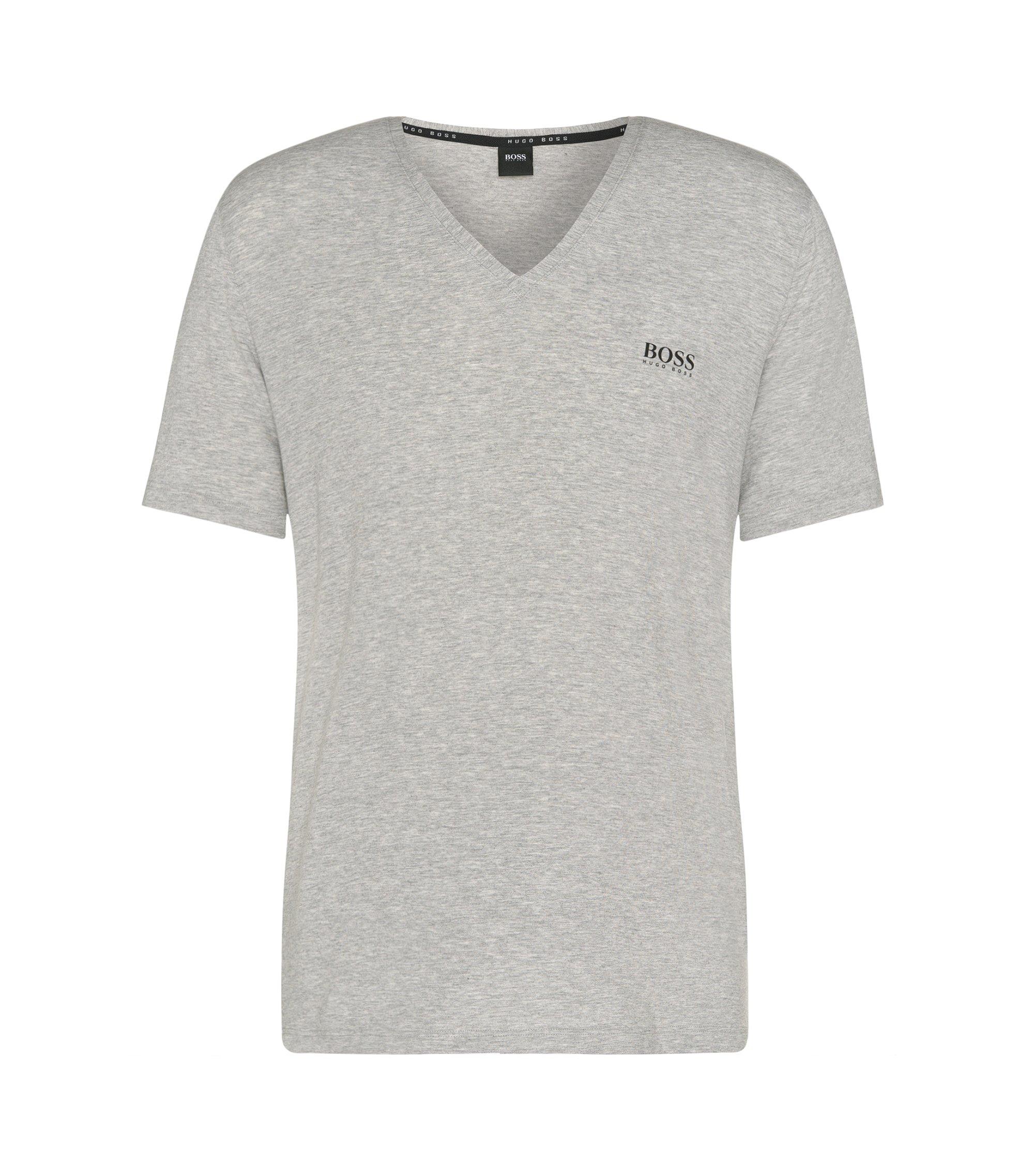Regular-Fit T-Shirt aus Stretch-Modal: 'Shirt VN', Grau