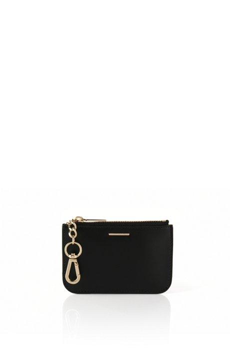 Leather key case: 'Staple Keyholder-C', Black