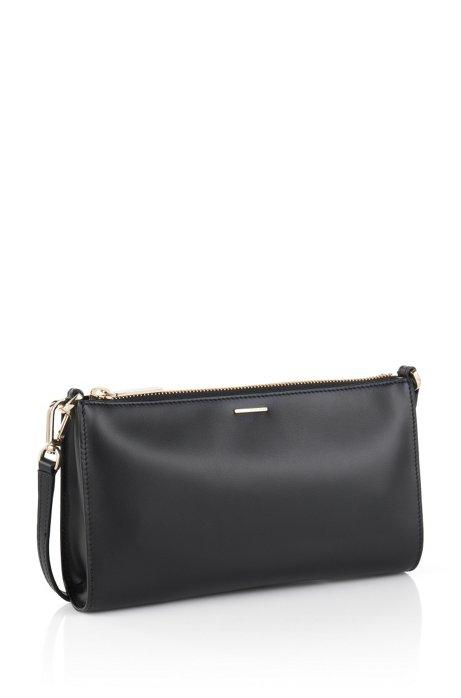 Handbag in smooth leather: 'Staple Mini Bag-C', Black